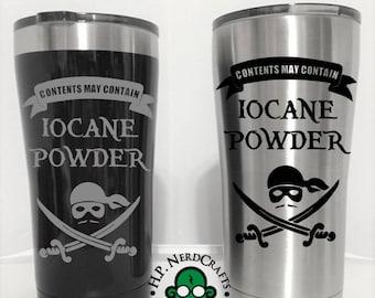 May Contain Iocane Powder Steel Tumbler