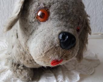 1940s Shabby Puppy Dog