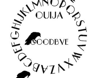 Ouija Board Stencil