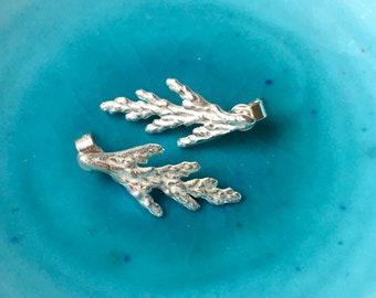 Fern Earrings, Leaf Earrings, Stud Earrings - Lovely Gift, Botanical Jewellery, Gift Idea, Mary Colyer Jewellery