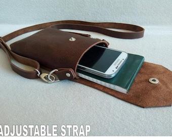 06bc4d587c0 Small Leather Bag, Mini bag, Crossbody bag, Handmade Minimalist leather  hand bag, Simple and Modern Bag