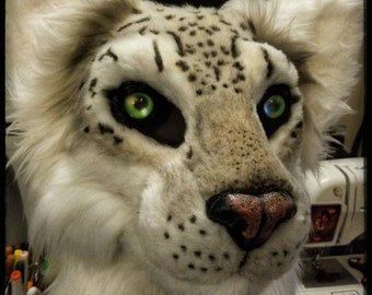 Artistic License Fursuit Mask Commission
