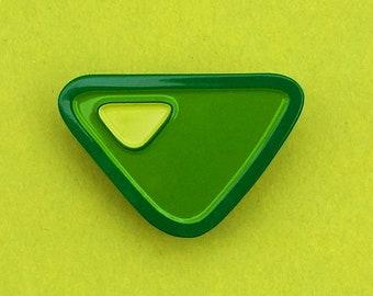 Steven Universe Peridot Gem Pin Soft Enamel Crystal Gem Pin