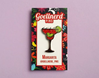 Pride Margarita Limited Edition Hard Enamel Pin LGBTQ Drinks Cocktail Happy Hour