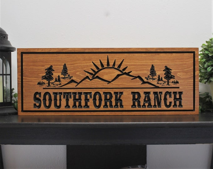 Ranch sign personalized family farm sign ranch decor signs ranch farm house sign ranch living house decor home gift