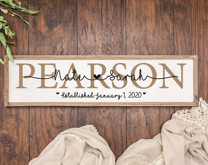 Personalized wedding gift for couple engagement-gift for wife-bridal shower gift custom-bride from groom gift-wedding signs-anniversary gift