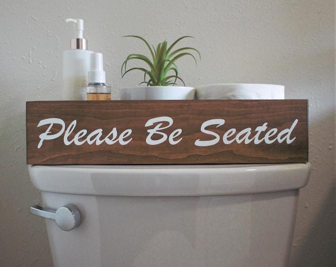 Toilet tank box-Bathroom decor box-toilet storage box-nice butt bathroom box-toilet top box-toilet top decoration-back of toilet box-topper