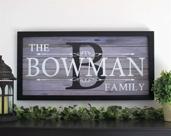 Family established wood personalized sign-Last name established sign-custom family name sign-Established sign-family sign-wood family sign