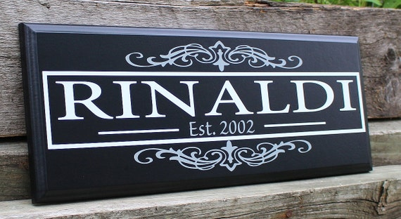 Custom Wood Sign Home Decor Wood Wedding Gift Personalized Etsy New Custom Wood Signs For Home Decor