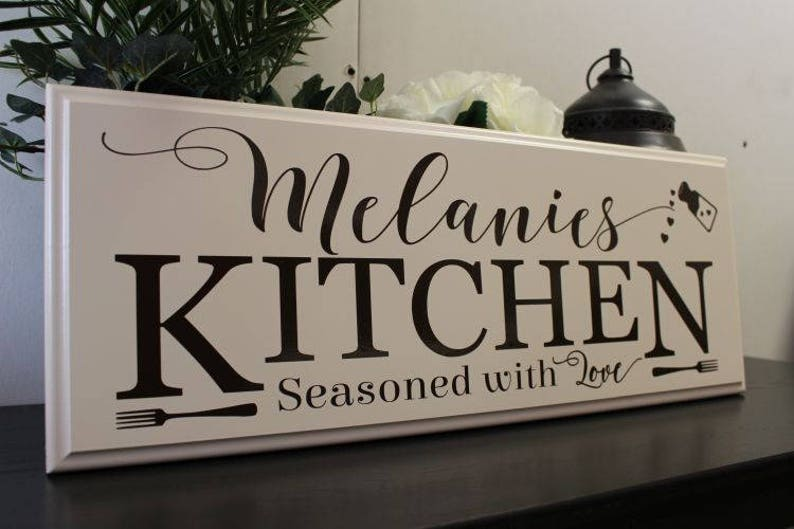 personalized kitchen signs-gifts-decor-items-kitchen | etsy