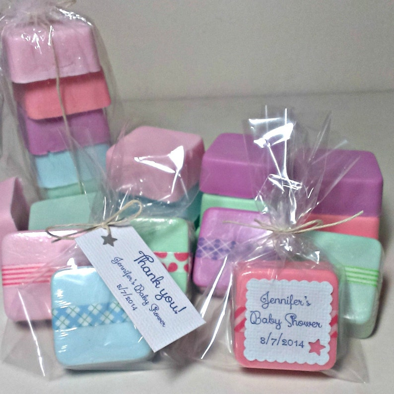 36 Baby Shower Favors Cheap Mini Soaps Homemade Soap Etsy