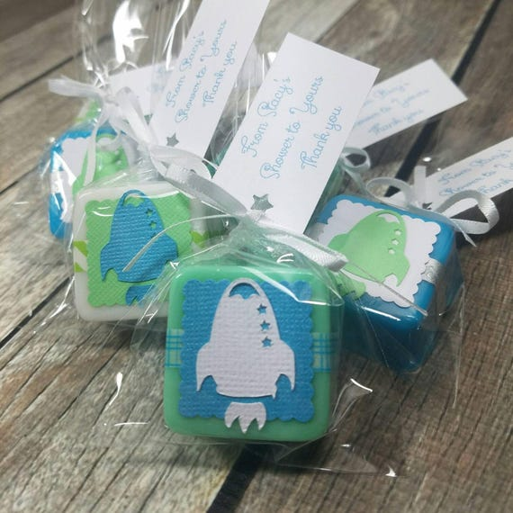 Rocket Outer Space Baby Shower Or Birthday Party Favors Etsy
