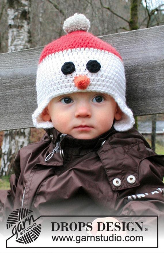 Babykind 6 Monate 10 Jahre Häkeln Karotte Nase Schneemann Etsy