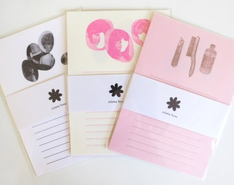 Letter Pressed Stationery Pack