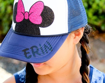 1d740a18779 Youth Personalized Disney Trucker Hats