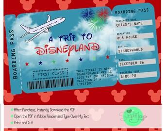 Shocking image pertaining to disney world printable tickets