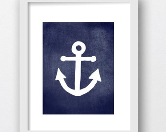 Anchors Prints, Anchor Nautical Art Digital Download Print, Digital Anchor Prints, Boat Anchors Prints,Marine Decor, Nautical Prints