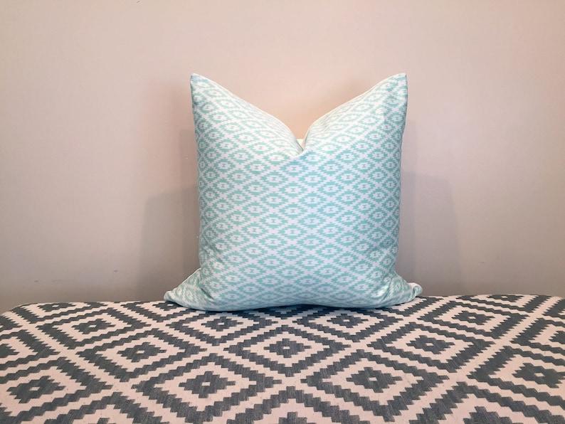 mint pillow mint pillow cover mint green nursery girls room image 0