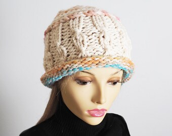76719a6eb9a OOAK Knitted Hats and Crocheted Hats by TheMastHatter on Etsy