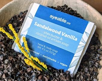 Sandalwood Vanilla Shea Butter Soap
