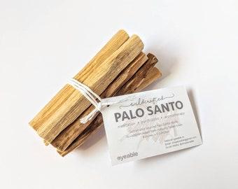 Palo Santo Smudge Sticks Ecuadorian Ethically Sourced 4 Inches