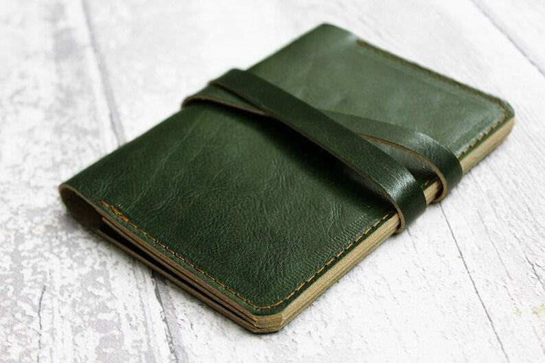 7a424ebb93473 Paszport okładka-Olive Green skórzane Travel | Etsy