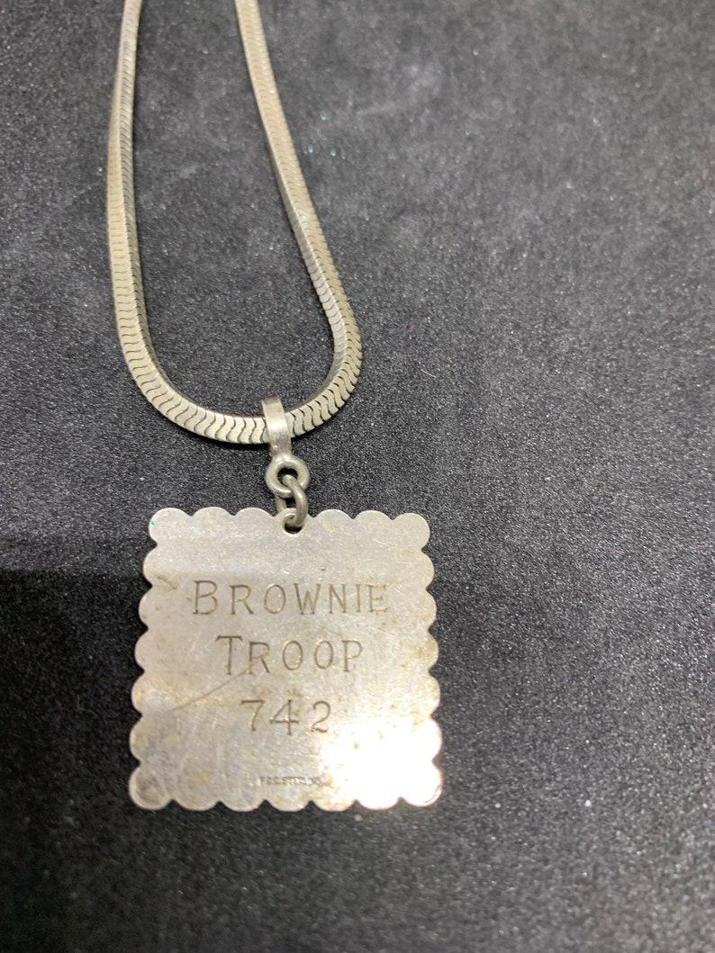 742 BROWNIE TROOP Sterling Bracelet