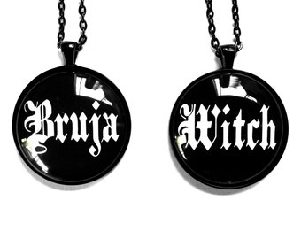 38mm Bruja/Witch Pendant