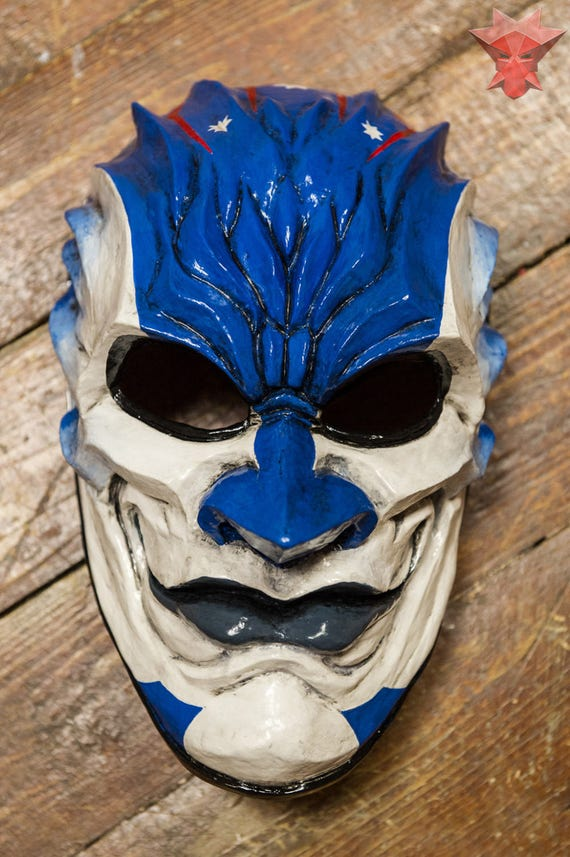 inspired Sydney Payday Payday2 the heist mask game Halloween | Etsy