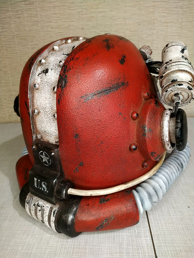 inspired of Fallout T45d helmet Nuka-Cola real size cosplay props power armor