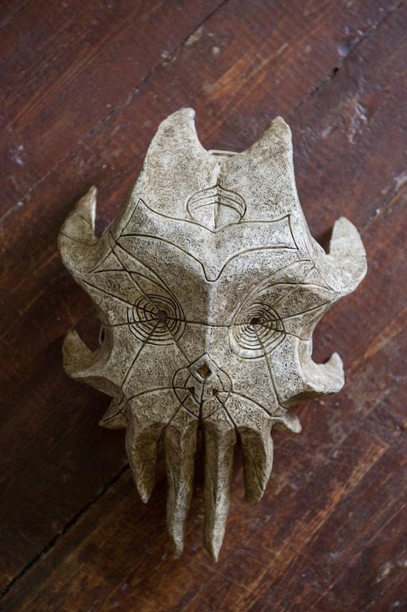 Skyrim Inspired Cultist Dragon Priest Mask Halloween The Elder Scrolls V  Fan Art