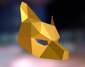 Make your own Wolf Mask