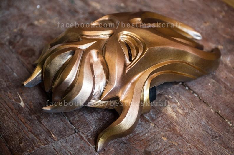 Skyrim Inspired Miraak Morokei Konahrik Dragon Priest Mask Cosplay wearable Halloween costume The Elder Scrolls V Fan Art