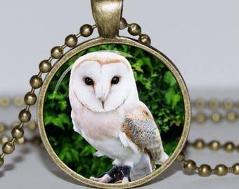 Owl Pendant Owl Necklace Owl Jewelry bird Pendant
