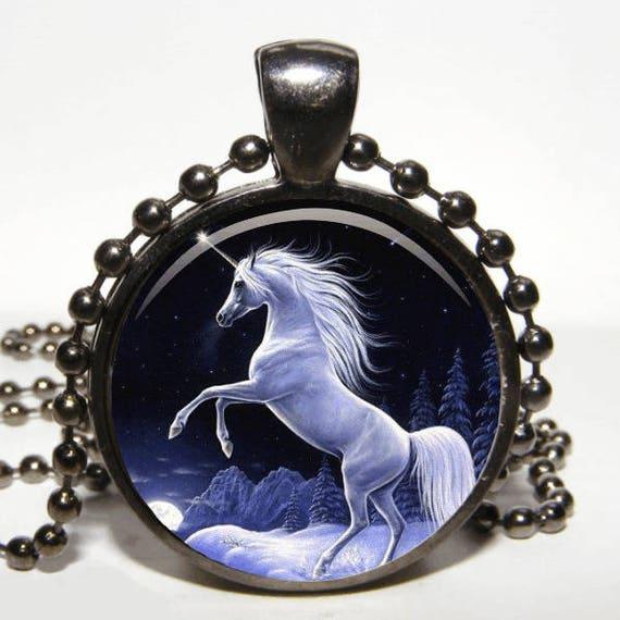 HORSE UNICORN NECKLACE