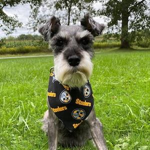 Pittsburgh Steelers Camo Dog Bandana