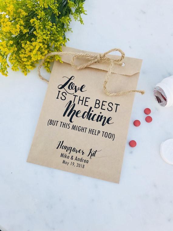 Hochzeit Kater Kit Taschen Liebe Ist Die Beste Medizin Etsy