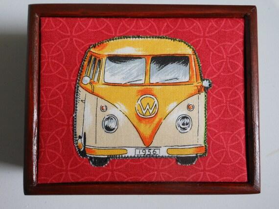VW Campervan Wooden Jewellery/Storage/Trinket/Keepsake Box