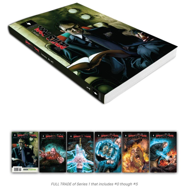 Graphic Novel  The Devil's Pool 190 page FULL TRADE 6 image 0