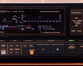Vintage Sony STR-AV460 AM/FM Stereo Receiver