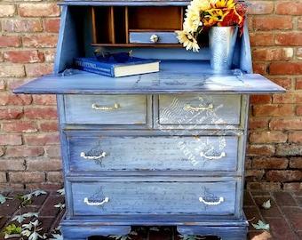 d3d1410745a8 SOLD SOLD!! Vintage Secretary Desk