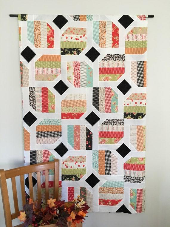 Digital Pattern Hopeful A Jelly Roll Quilt Pattern Hopeful Etsy