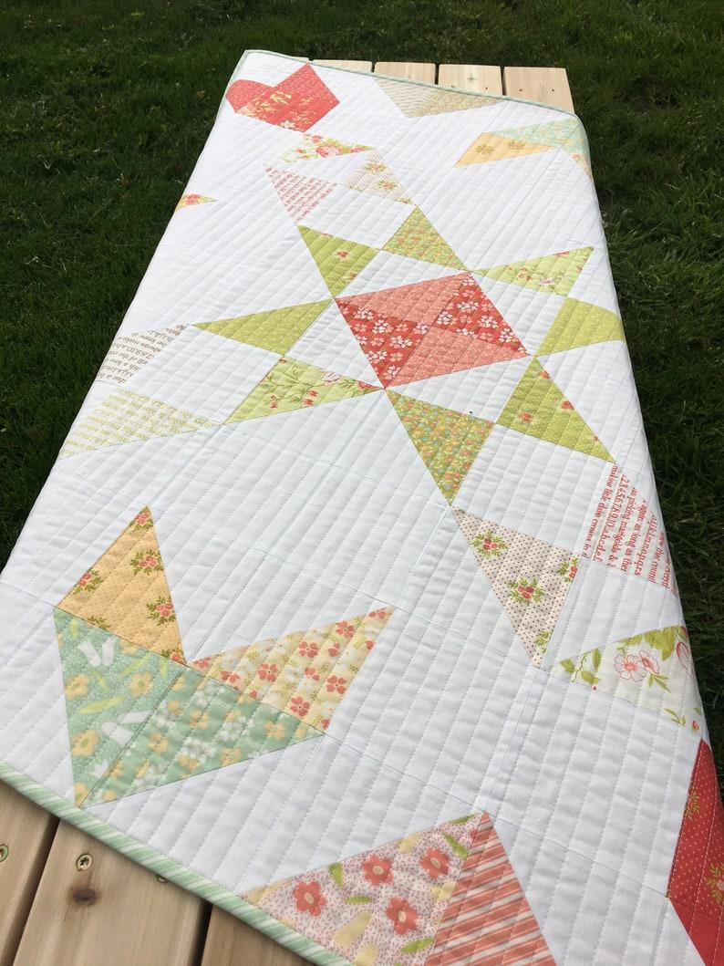Digital Pattern A Charming Barn Quilt 2 Quilt Pattern