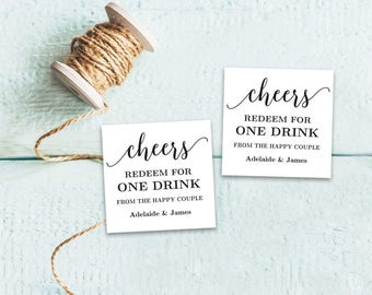 drink ticket etsy