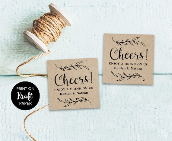drink tickets drink token printable wedding drink tickets etsy