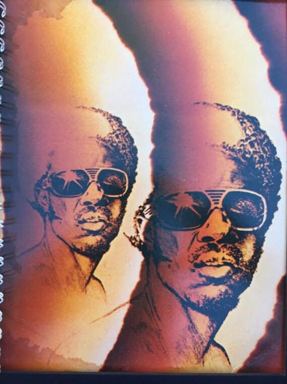 for the Stevie Wonder - Songs in the Key of Life Fan / Album Cover Notebook  /rare LP vinyl MOTOWN