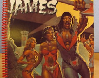 for the Rick James Bustin' Out of L Seven 7 Album Cover Notebook/MOTOWN SUPER FREAK funk fan