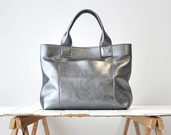 4bb989d2a1699 CAMILLA BAG Gunmetal leather bag