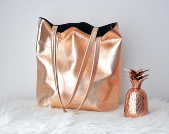 10c52121ee9a1 EMMA BAG Rose gold bag