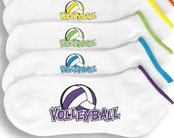 c2a79dece Volleyball Socks -6 Pairs of Custom